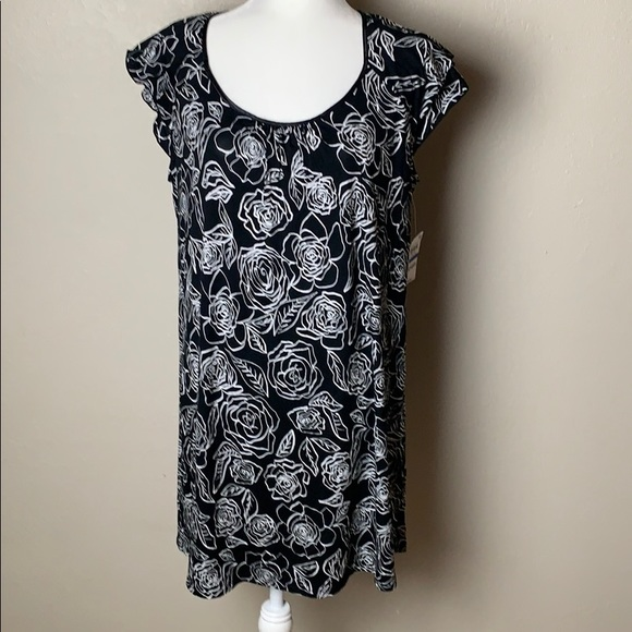 Charter Club Lace Sleeve Nightgown,  for Macy's